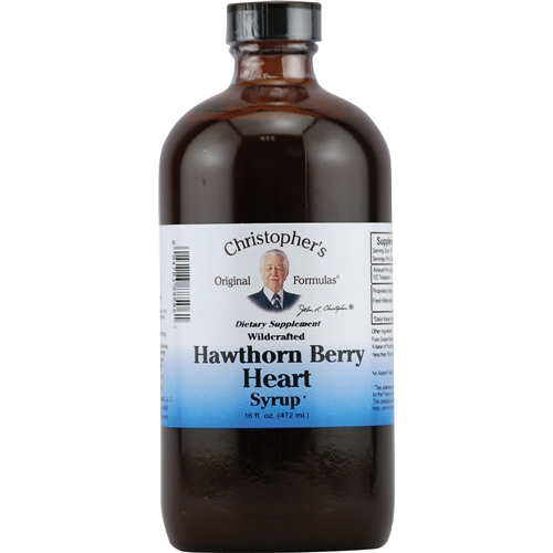 Hawthorne berry syrup 16 ounces