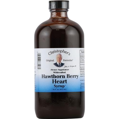 Hawthorne berry syrup 16 ounces